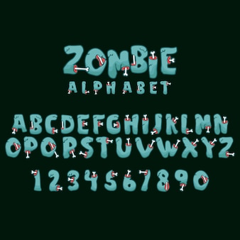 Alphabet zombie & numérique