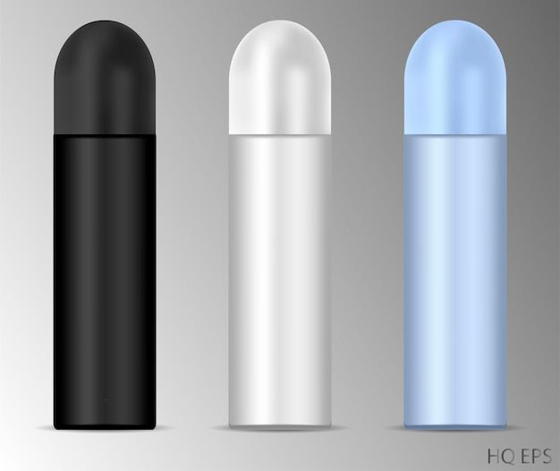 Aluminium déodorant spray peut définir