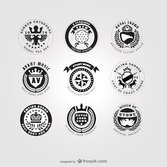 Américain pack logos de style