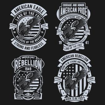 American eagle design