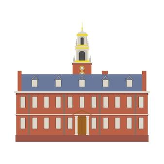 American inn building