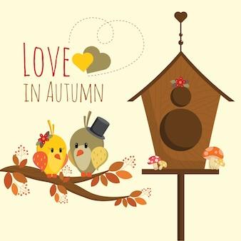 L'amour en automne