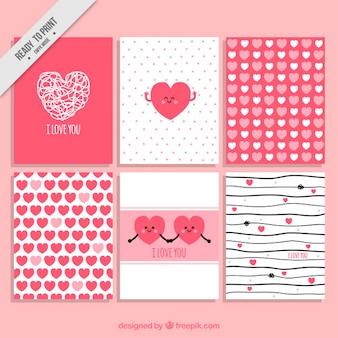 L'amour collection de cartes pour une journée spéciale