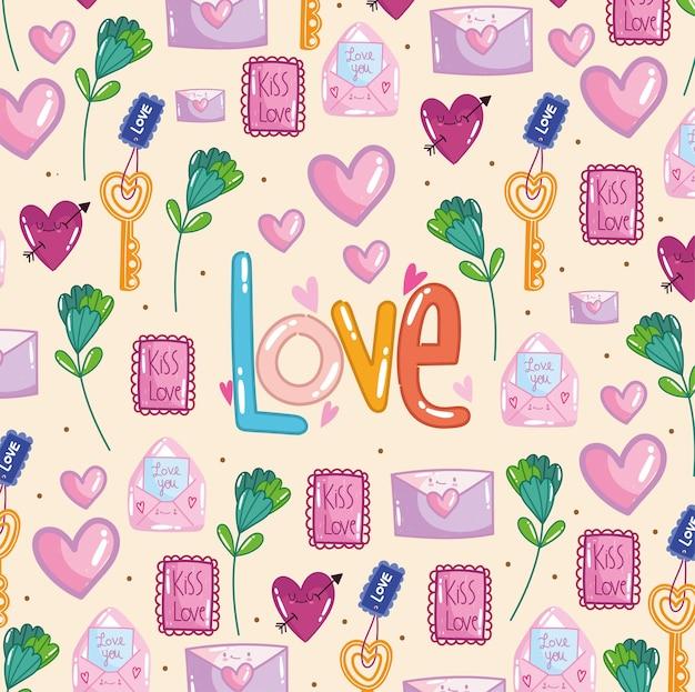 Amour et composition romantique