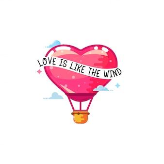 L'amour est comme le vent