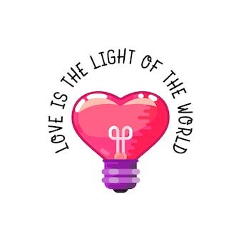L'amour est la lumière du monde