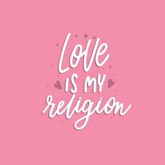 L'amour est ma religion