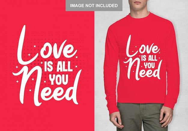 L'amour est tout ce dont vous avez besoin