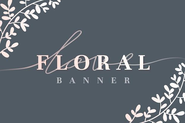 Amour floral fond