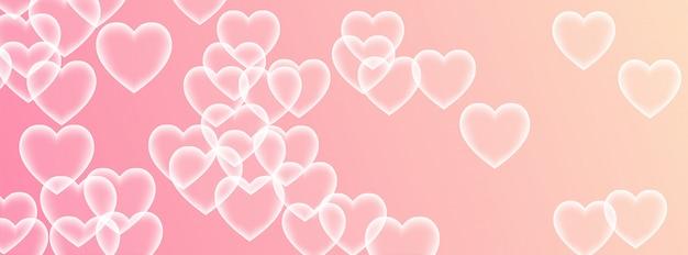 Amour fond de texture rose