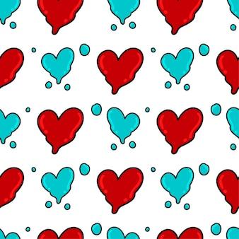 Amour fusion textile sans couture imprimé idéal pour l'été tissu vintage scrapbooking papier peint emballage cadeau