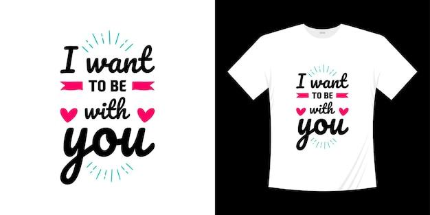 Amour lettrage citations conception de t-shirt chemise de typographie écrite à la main romance
