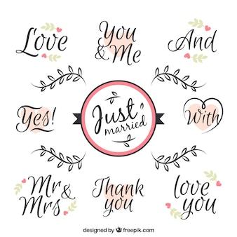 Amour des phrases pour le jour du mariage