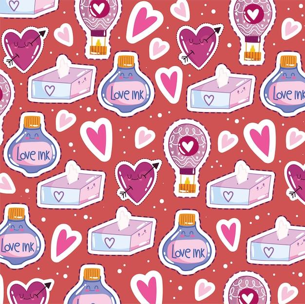 Amour romantique mignon