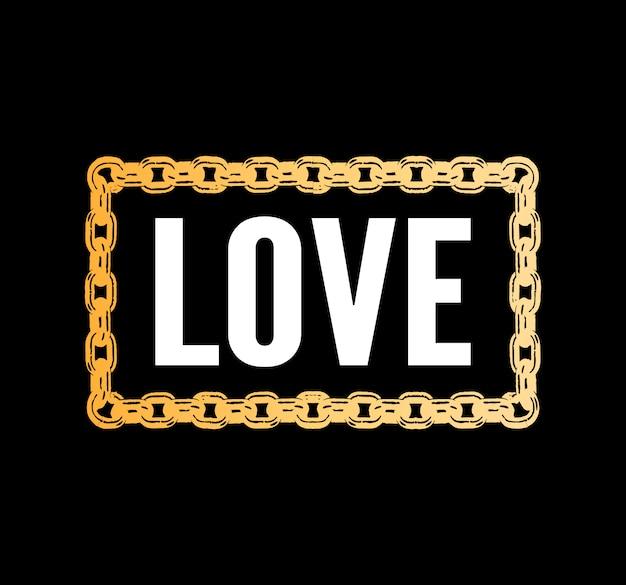 Amour slogan de la typographie dessin moderne slogan de la mode