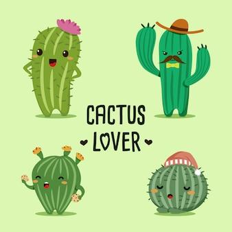 Amoureux des cactus