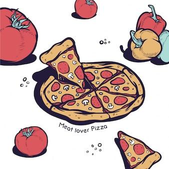 Amoureux de la pizza