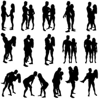 Amoureux des silhouettes