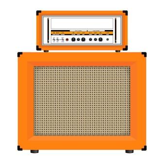 Amplificateur de guitare classique réaliste avec haut-parleur de cabinet