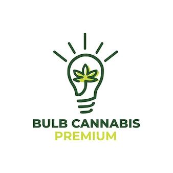 Ampoule cannabis logo