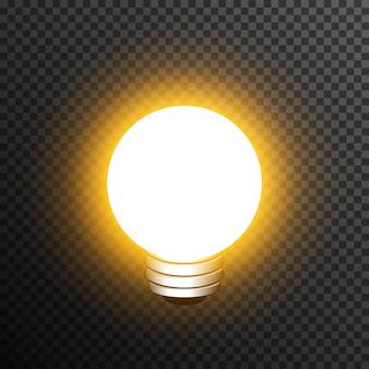 Ampoule décoration réaliste transparente