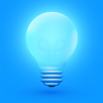 Ampoule, idée créative et innovation