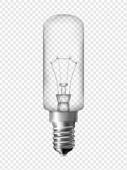 Ampoule de réfrigérateur, design d'ampoule transparente