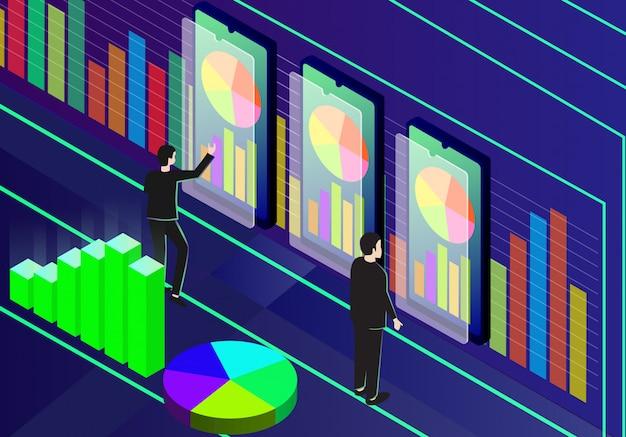 Analyse d'affaires isométrique