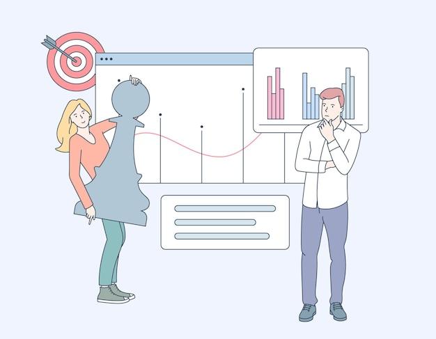 Analyse commerciale, stratégie et gestion de contenu