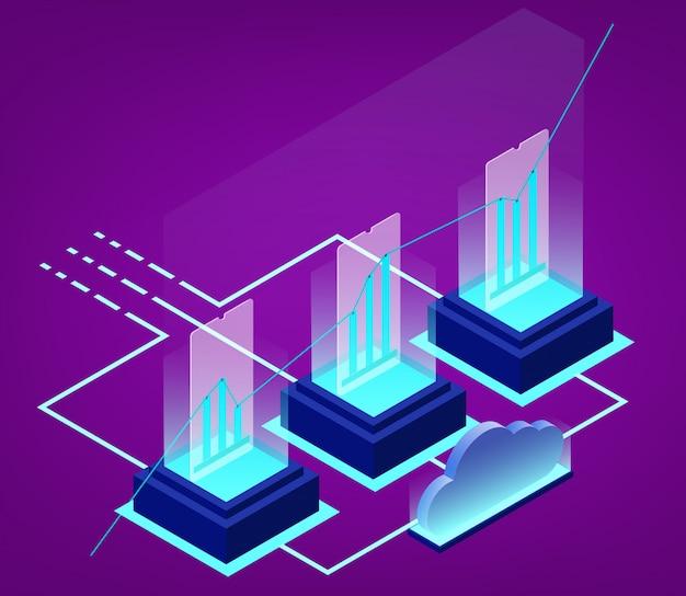 Analyse de données isométrique et statistiques commerciales