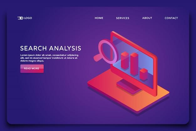 Analyse de données de recherche
