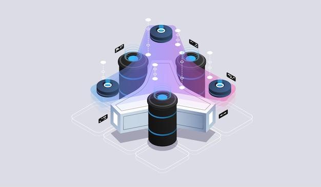 Analyse de données traitement big data computing