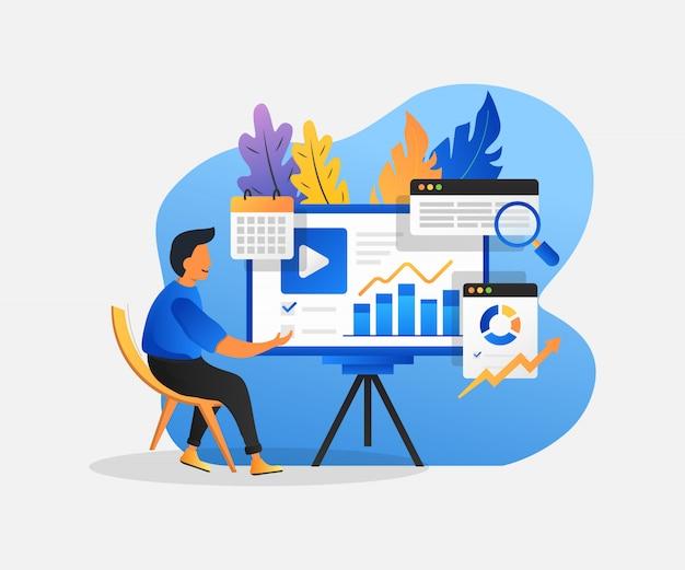 Analyse de marché, solution d'entreprise