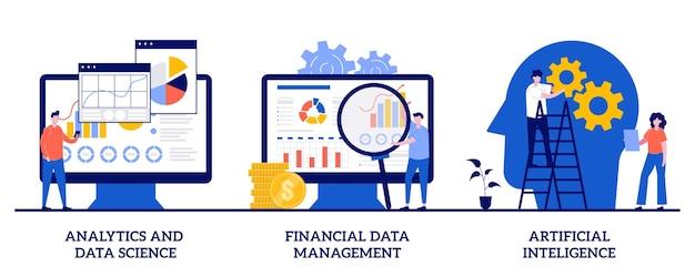 Analyse et science des données, gestion des données financières