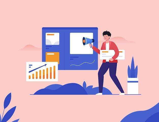 Analyse des tendances du marché, recherche en marketing numérique, augmentation des revenus avec le marketing internet