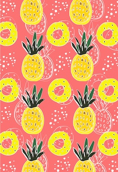 Ananas abstrait