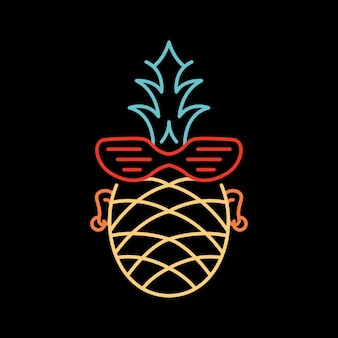 Ananas punk d'été