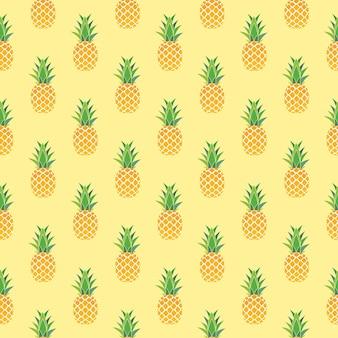 Ananas sans soudure de fond
