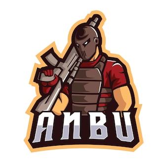 Anbu e sports logo