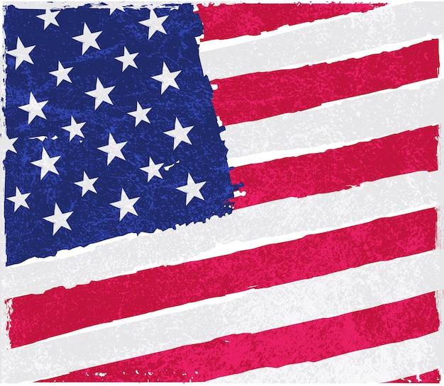 Ancien drapeau américain vintage