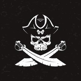 Ancien logo pirate