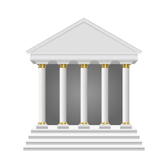 Ancien temple isolé