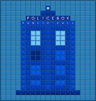 Ancienne boîte de police