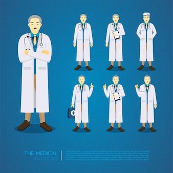 Les anciens docteurs tout en action