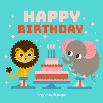 Animal anniversaire
