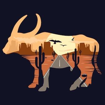 Animal de bison
