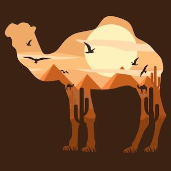 Animal de chameau