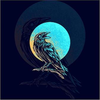 Animal corbeau