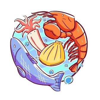 Animal dans la mer