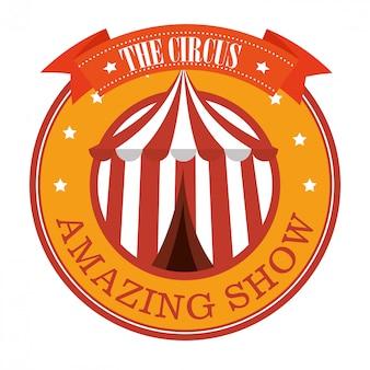 Animation de carnaval de cirque